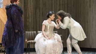 Der Rosenkavalier 2014. Marianne Leitmetzerin (Miranda Keys), Sophie (Teodora Gheorghiu) & Octavian (Tara Erraught).