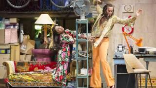 Glyndebourne Festival 2015, L'heure espagnole.  Concepción (Danielle de Niese) and Gonzalve (Cyrille Dubois). Photographer: Richard Hubert Smith