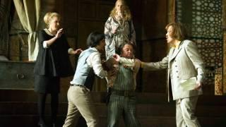 Susanna, Figaro, Countess, Antonio and the Count, Le nozze di Figaro 2012.