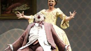 Jonathan Veira as Don Pasquale and Ainhoa Garmendia as Norina, Don Pasquale, Tour 2011