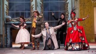 Nardo (Gyula Orendt) & the ensemble, La finta giardiniera, Festival 2014