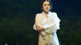 Venera Gimadieva as Violetta in La traviata, Glyndebourne Festival 2014