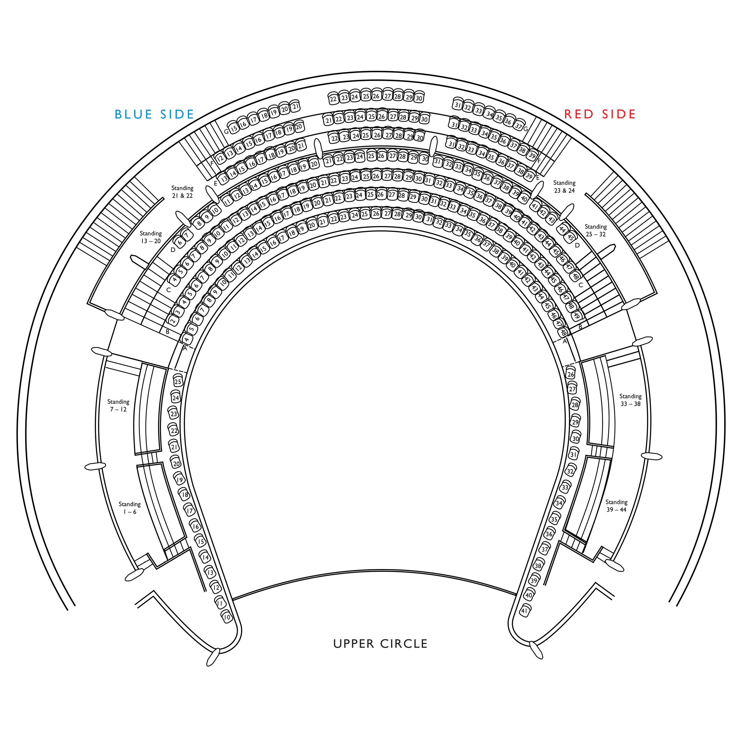 Auditorium Seating Plans