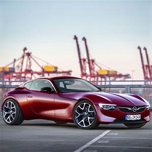 Награждение спортивного автомобиля Opel GT Concept