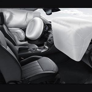 Система подушек безопасности в современных автомобилях General Motors.