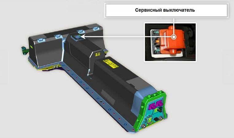 volt battery contactor
