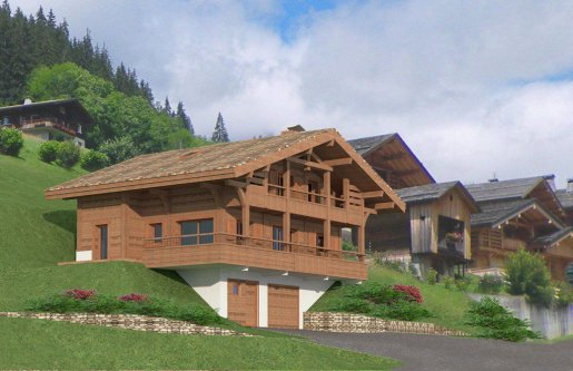 Grand Bornand – Chalet individuel neuf de 134,56 m²