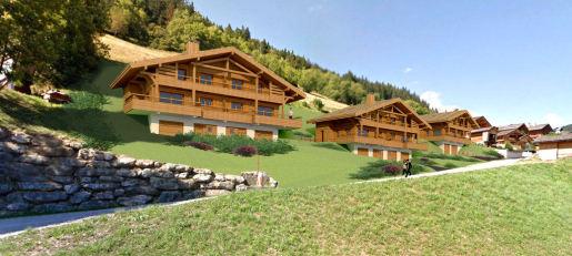 Grand Bornand – Demi-chalets neufs de 90,57 m²