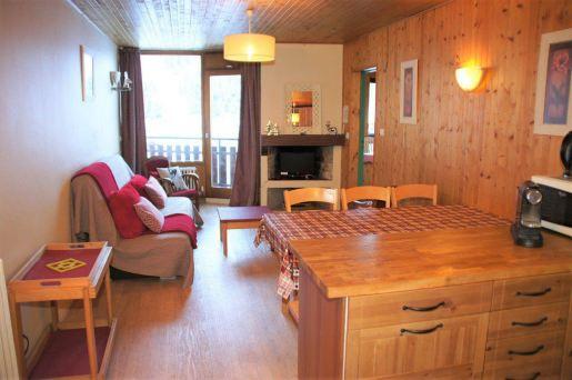 La Clusaz – 2 pièces de 41,87 m² – cheminée – garage