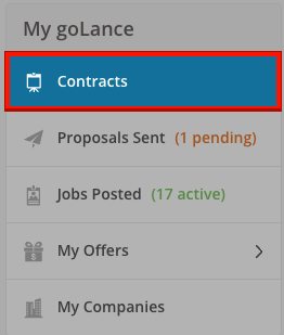 My goLance - Contracts A