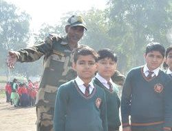 BSF Weapon Exhibhition...