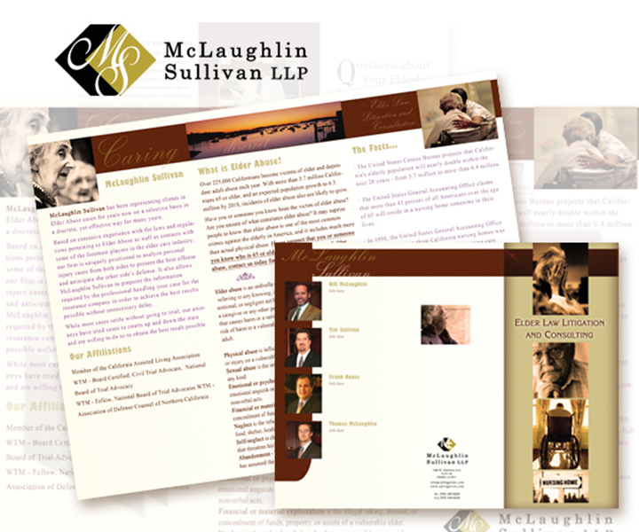 McLaughlin Sullivan Law Trifold Brochure