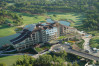 aerial image of sueno golf hotel