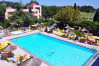 Beautiful outdoor swimming pool, golf in france, Domaine de Montpellier Massaine.