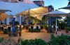 The outdoor restaurant at Oliva Nova