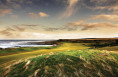 Stunning fairway at Kingsbarns located adjacent to the sea, an excellent links course