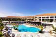 The pool area and exterior of Monte da Quinta, Algarve