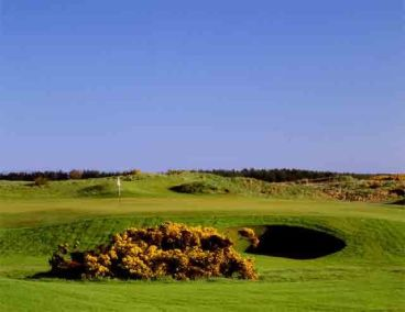 A clear day at Dundonald Golf Course