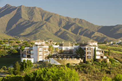 Beautiful shot of the La Cala Resort in Costa del Sol, Spain