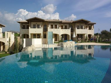Aphrodite apartments with communal swimming pool