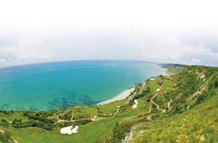 Beach view at Thracian Cliffs