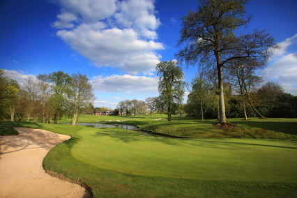 The stunning 10th hole at The Belfry Brabazon Course