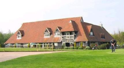 Enjoy a post-round drink at the clubhouse