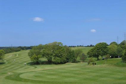 Golf course 8th hole