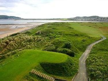 Beautifully manicured fairways at Conwy Golf Club