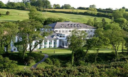 Dartmouth Golf and Country Club nestled in rolling countryside