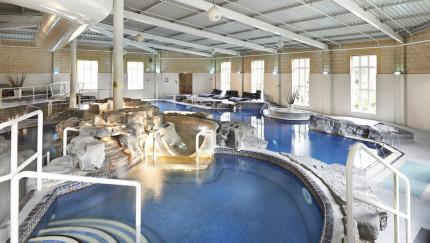 De Vere Slaley Hall indoor swimming pool