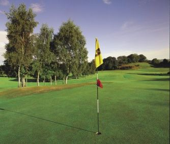 Beautiful golf courses are available at Dumfries and County Golf Club
