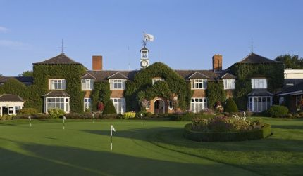 Fantastic shot of the Manor House at The Belfry