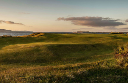 Beautiful coastal links in Fortrose