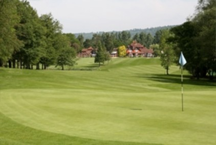 A view from the first hole at Gatton Manor