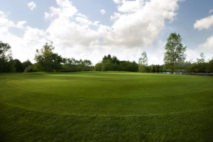 The greens and fringes are carefully maintained all year round