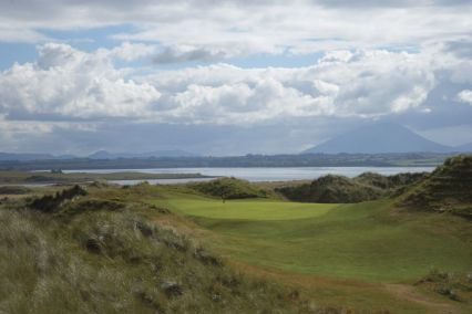 Play the famous Enniscrone Golf Course found near Mount Falcon Estate