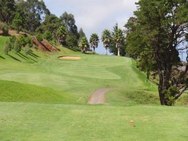 A view of the Real Club De Golf De Tenerife
