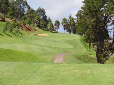A view of the Real Club De Golf De Tenerife