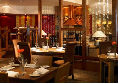 A picture of the restaurant available at Marriott St Pierre