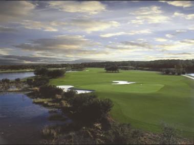 The superb Ritz Carlton Golf Club onsite at Grande Lakes Orlando