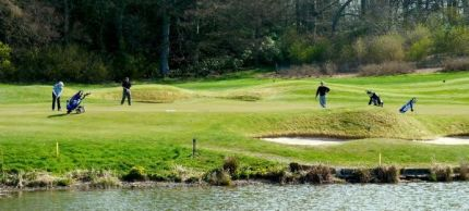 Water hazards to challenge your game at Roxburghe Hotel and Golf Course
