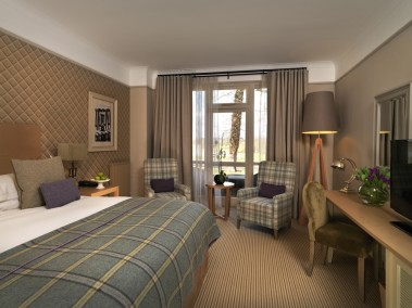 The signature Superior Double room at The Belfry, Warwickshire