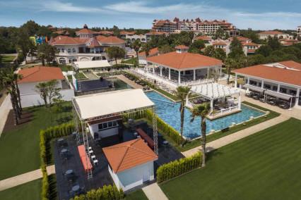 Beautiful image of the Sirene Belek Hotel in Turkey