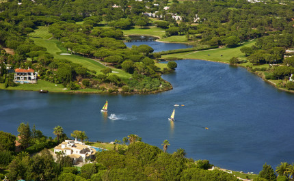 Stunning views of the South Course at Quinta do Lago, Algarve