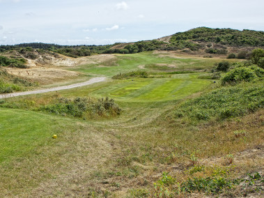 Superb par 3 at Golf Belle Dune, Pas-de-Calais