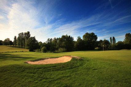 The 14th hole at Lingfield Park Golf Course, Surrey