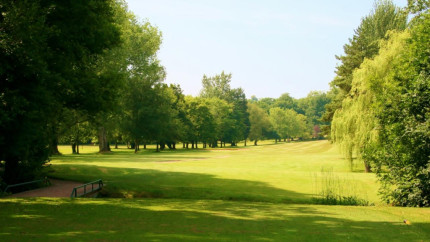 The 4th hole at Cardiff Golf Club, Cardiff