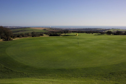 The Dyke Golf Course in East Sussex
