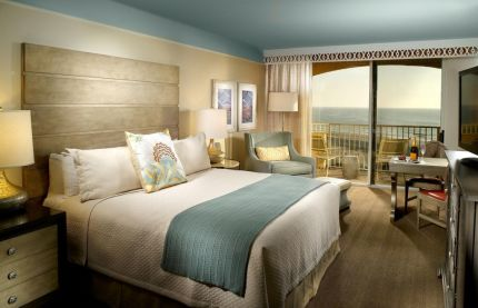 Rooms at Omni Amelia Island Hotel offer stunning views